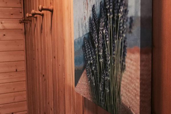 Sauna Garderobe
