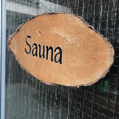 Saunaschild